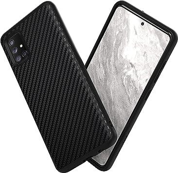RhinoShield Coque Compatible avec [Samsung Galaxy A51]   SolidSuit - Housse Fine avec Technologie Absorption des Chocs & Finition Premium - Fibre de ...