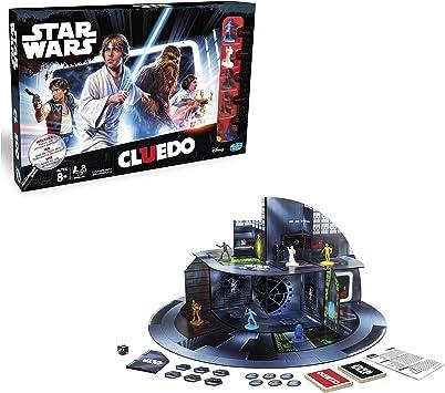 Hasbro Clue Game: Star Wars Edition Niños y Adultos Juego de rol ...