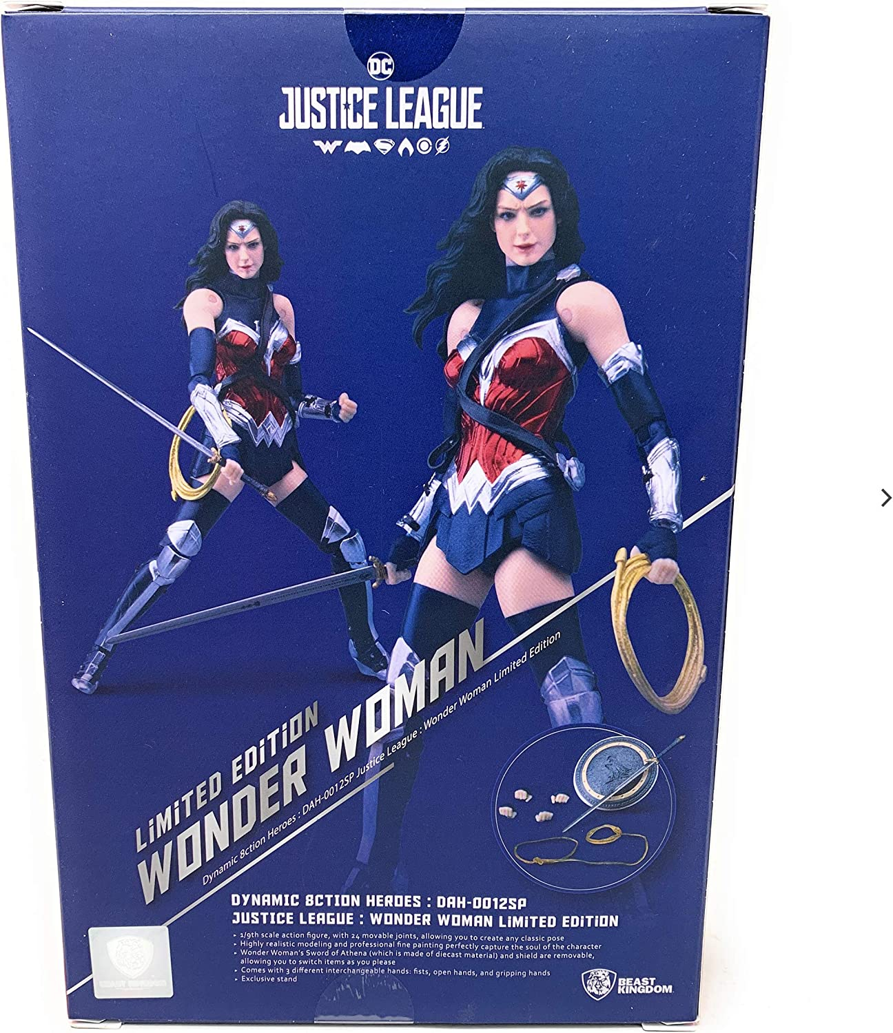Beast Kingdom Dynamic 8ction Heroes Special Color Ver. - 2019 NYCC Exclusive Wonder Woman