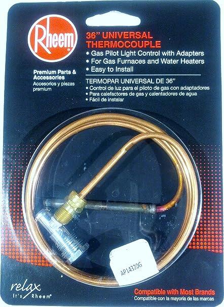 "Rheem 36"" Universal Thermocouple RH623431"