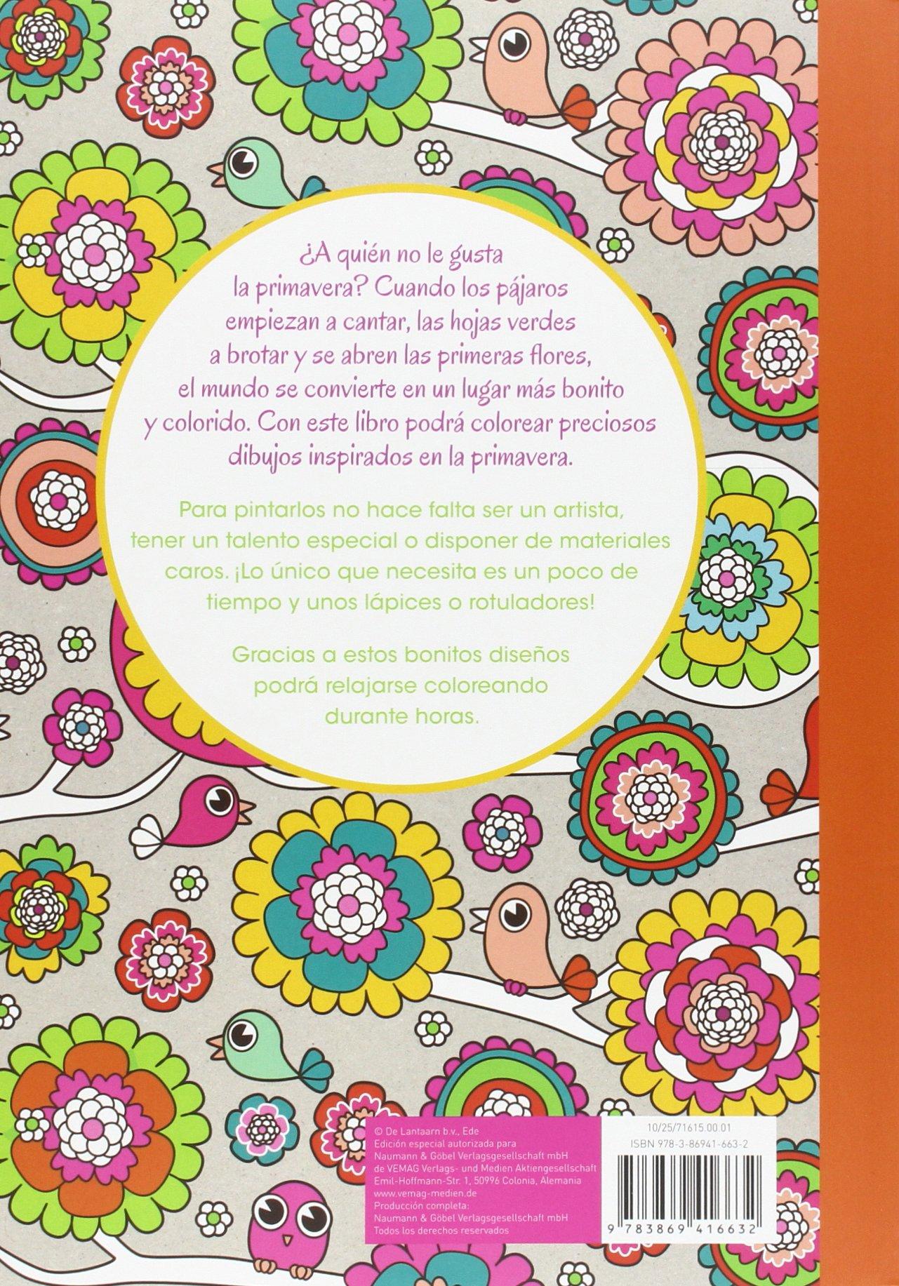 Colorida primavera: Pintar para relajarse: VV.AA.: 9783869416632: Amazon.com: Books