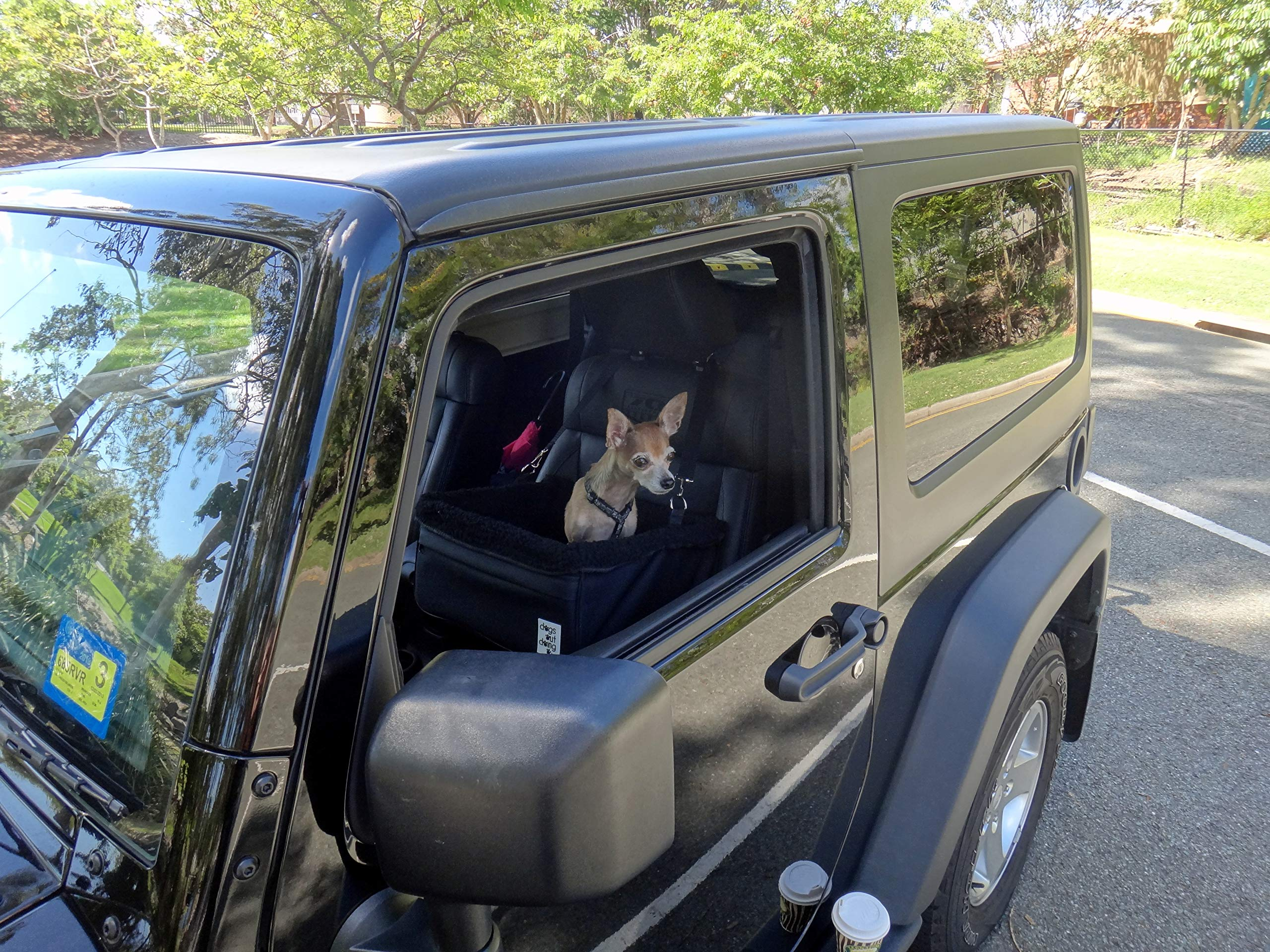 Dogs Out Doing Small Dog Car Booster Seat by Dogs Out Doing