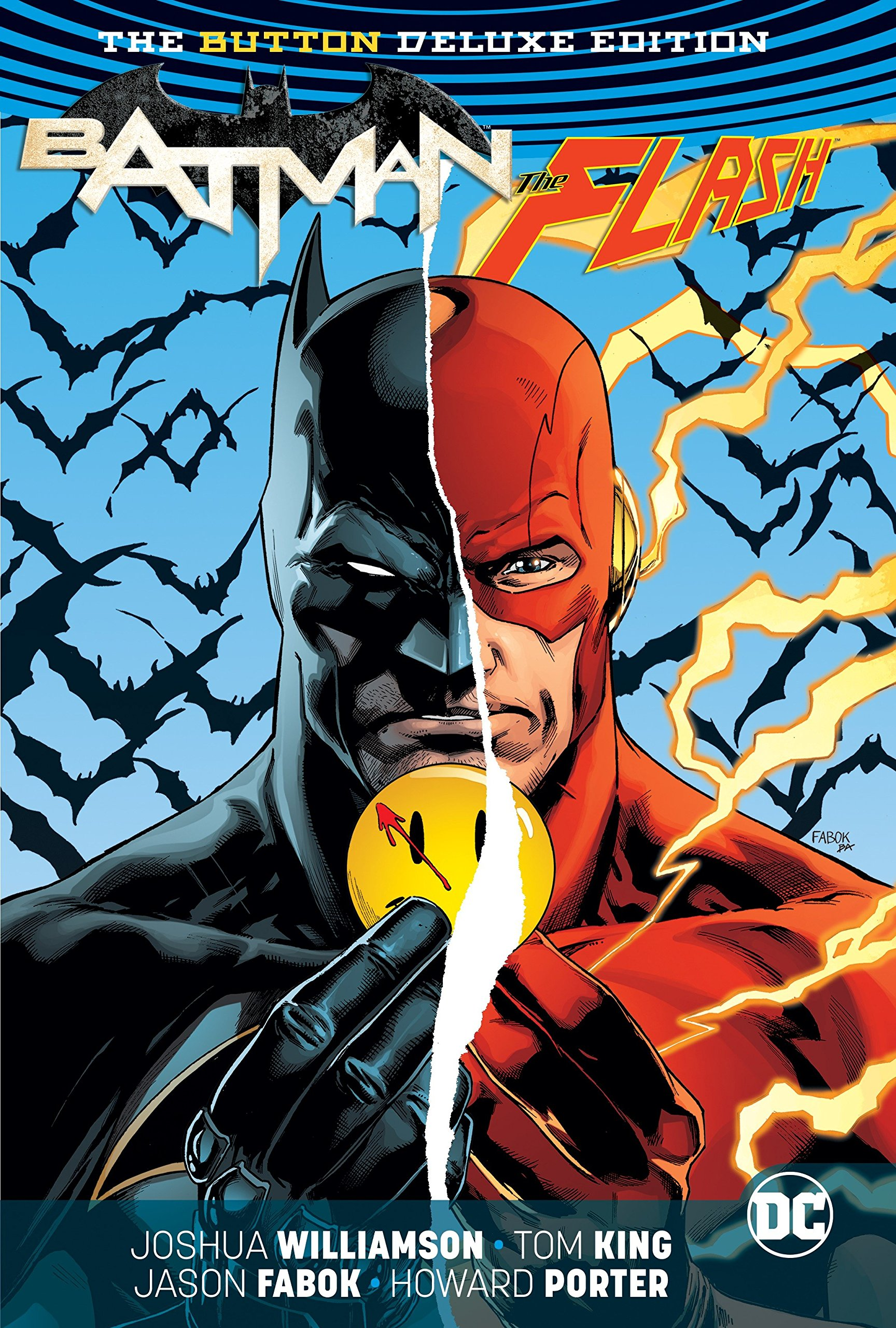 Read Online Batman/The Flash: The Button Deluxe Edition pdf epub