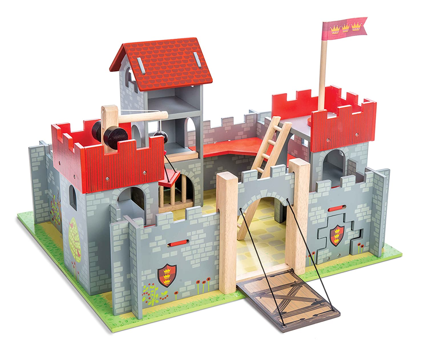 Le Toy Van Camelot Castle TV236 figure fortress knight