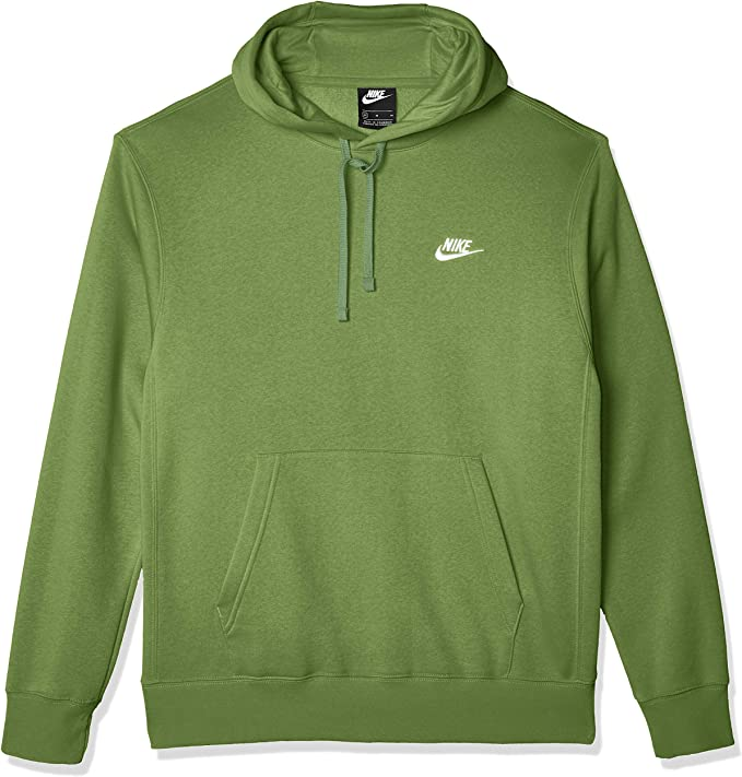 Feudo Español Suposición  Nike Men's NSW Club Pullover Hoodie, Treeline/Treeline/(White), 3X-Large:  Amazon.co.uk: Clothing