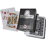 Cartes Poker 100% plastique Titanium + cut card - Spot Games