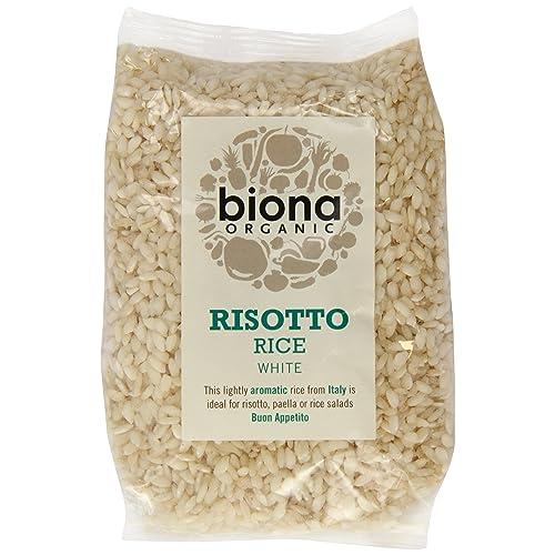 Biona Organic Risotto Rice White 500g (Pack of 3)