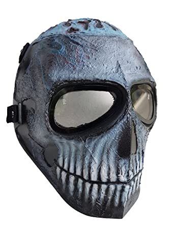 Invader King TM Spawn Army Of Two Airsoft Mask Protective Gear Outdoor Sport Fancy Party Ghost
