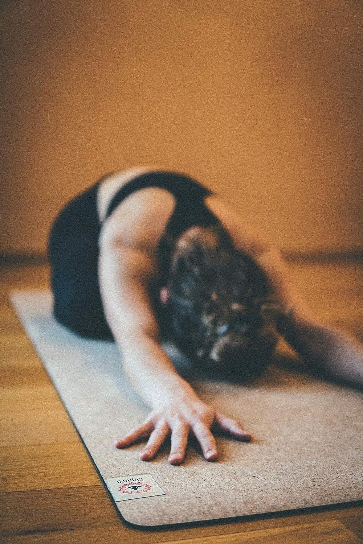 Esterilla yoga caucho natural ✓ estera de corcho ...