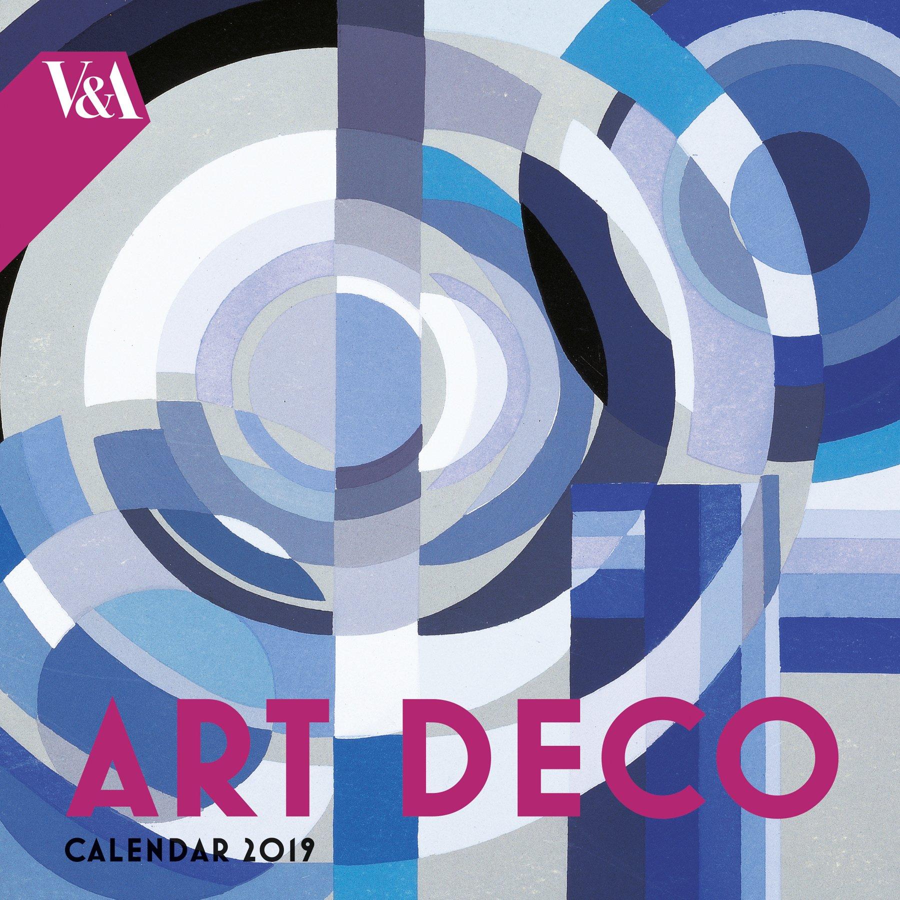 V&A Art Deco Design - mini wall calendar 2019 (Art Calendar): Flame Tree  Studio: 9781786649607: Amazon.com: Books