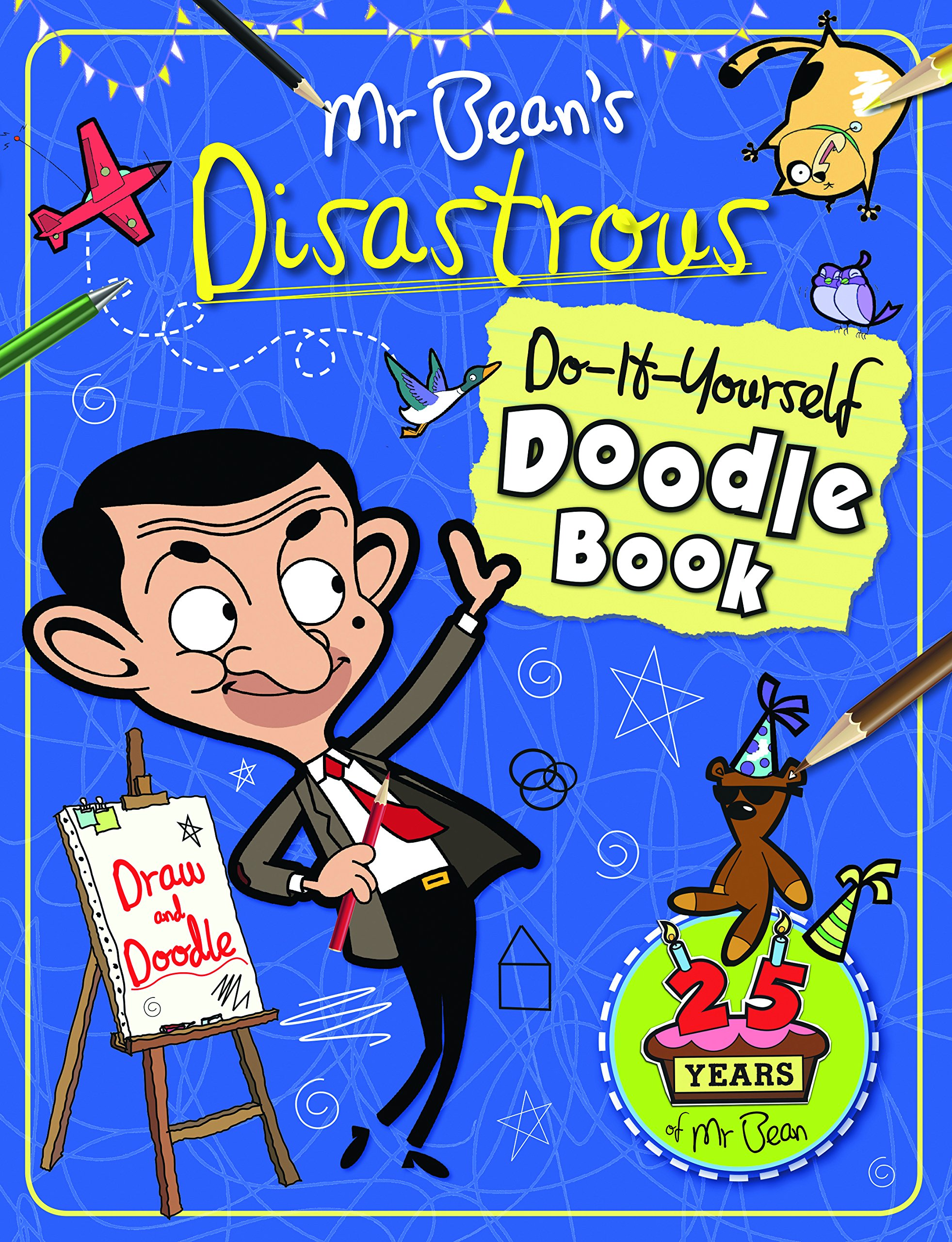 Mr beans disastrous do it yourself doodle book anna brett mr beans disastrous do it yourself doodle book anna brett 9781783121380 amazon books solutioingenieria Choice Image