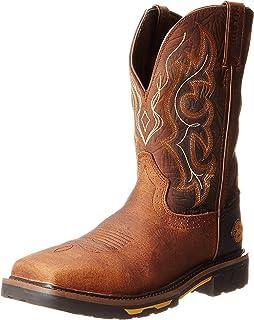 715afe73439 Amazon.com | Justin Original Work Boots Men's Stampede Pull-On ...