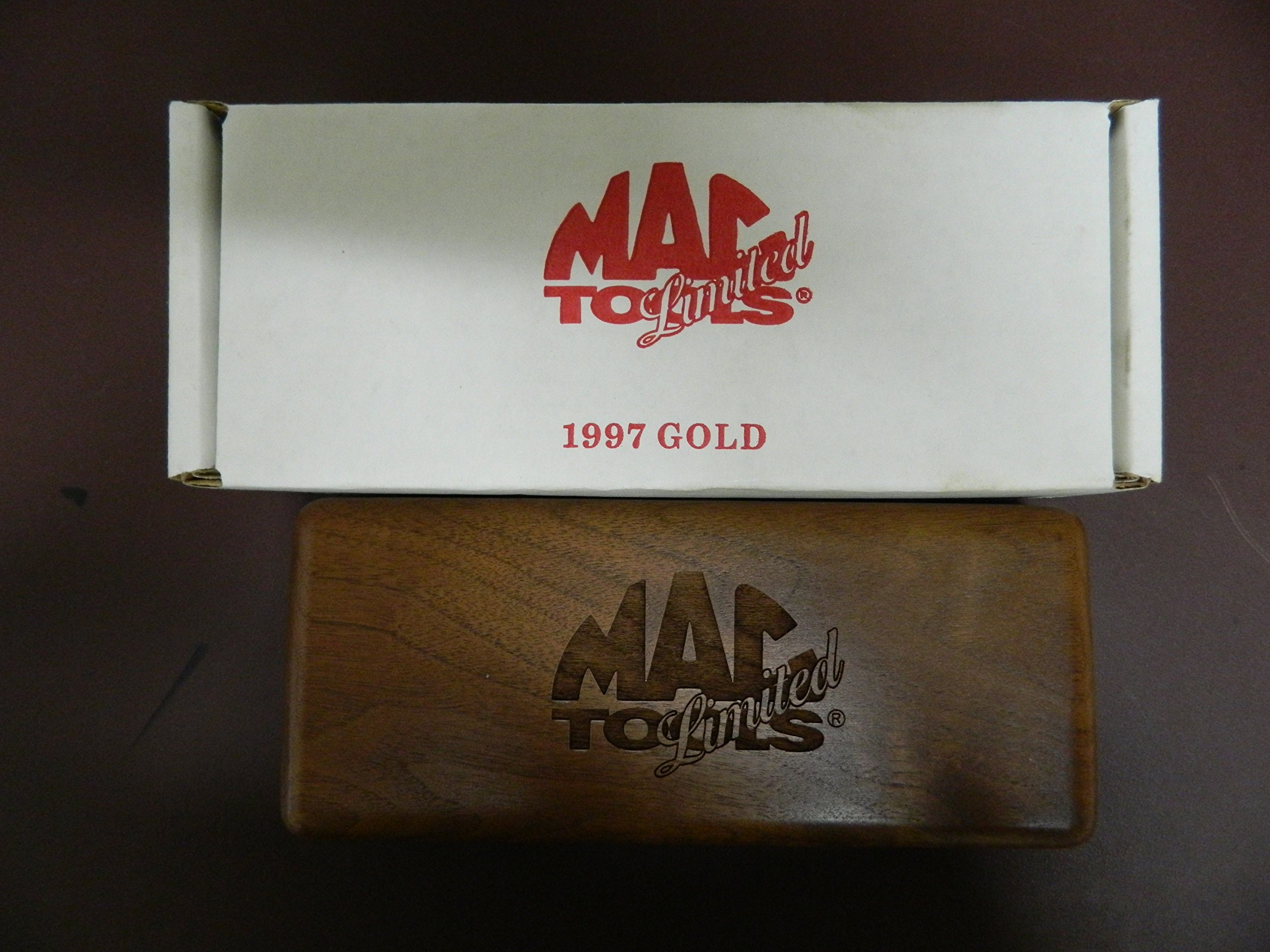 Mac Tools 3 Piece 24K Plated Chisel Set 1997, Size 6''-7 1/2'', Serials #0180