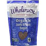 Wholesome Sweeteners Fair Trade Organic Dark Brown Sugar, 24 Ounce Pouch