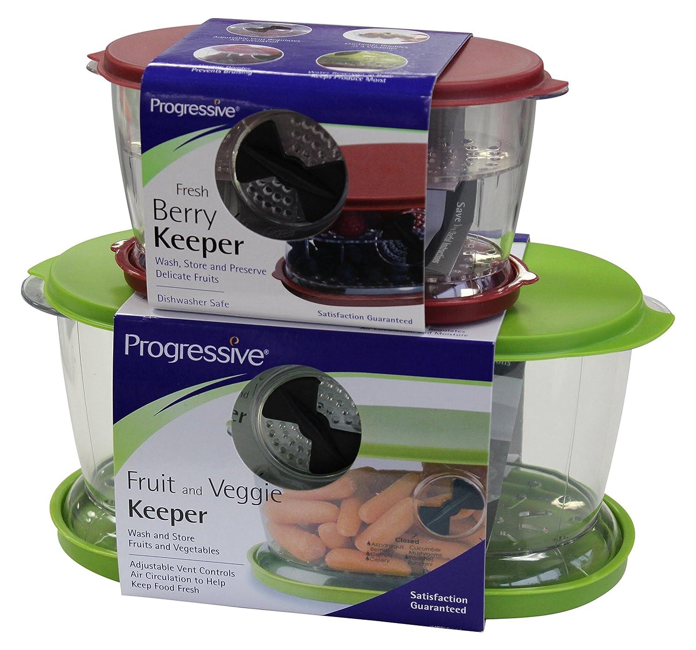 progressive 1 X Berry Fruit & Veggie Keeper Set