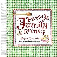 Recipe Keepsake Book - Favorite Family Recipes