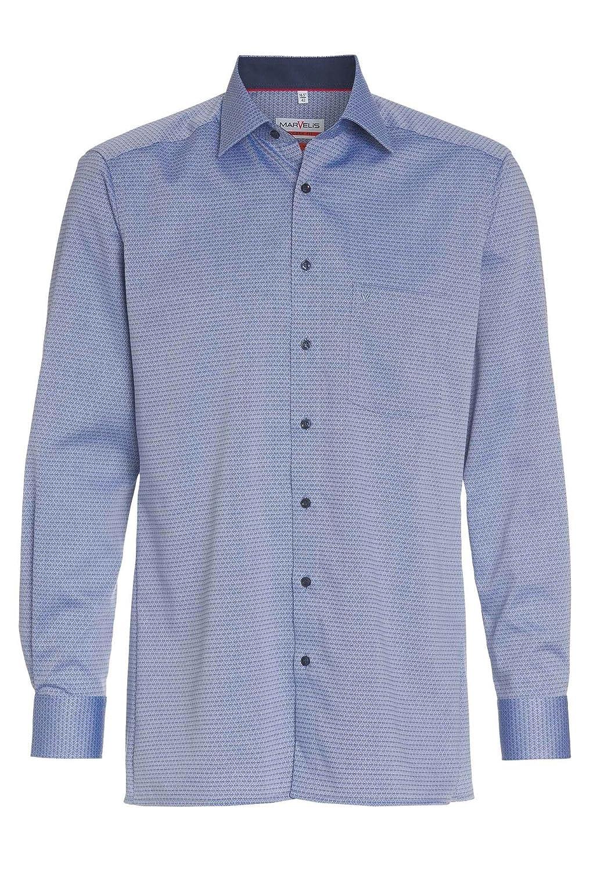 TALLA 44. Marvelis Camisa Formal - Cuadrados - Para Hombre