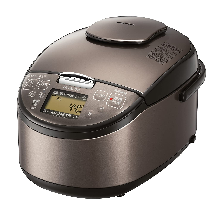 HITACHI 圧力スチームIH炊飯器 5.5合 ライトブラウン RZ-SG10J-T RZ-SG10J-T B008BE5I54