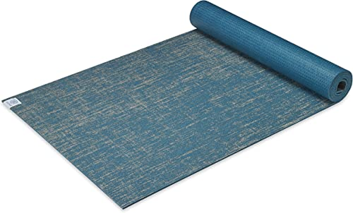 Gaiam Yoga Mat Jute Extra Thick Exercise Fitness Mat