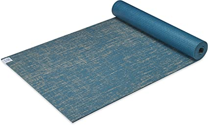 Gaiam Yoga Mat Jute Extra Thick Exercise & Fitness Mat for All Types of Yoga, Pilates & Floor Exercises