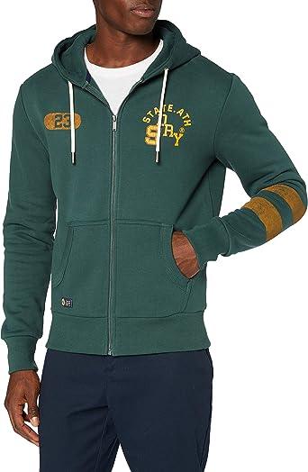 Superdry T&f Classic Zip Hood suéter para Hombre