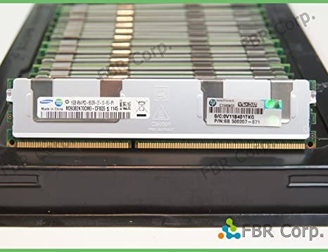 Amazon.com: HP 16 GB (1 x 16 GB) 4Rx4, PC3 – 8500R, DDR3 ...