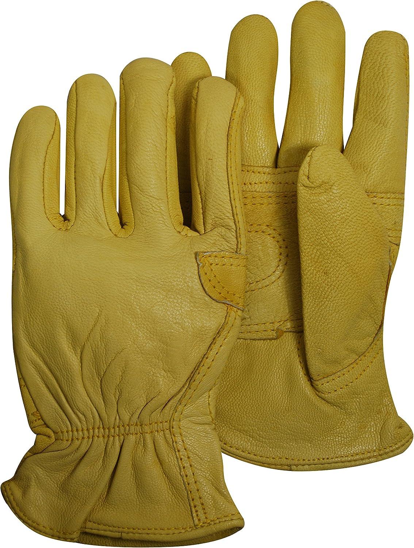 Magid TB559ET-M Mens Pro Grade Collection Roper Goatskin Gloves Medium Magid Glove and Safety TB559ETM