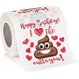 Maad Romantic Birthday Novelty Toilet Paper - Funny Gag for Him or Her