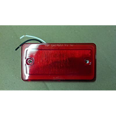 Truck-Lite 25250R Red LED Model 25 Cab Marker Light (Sealed 6 Diode Pattern): Automotive