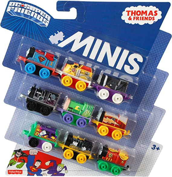 Thomas Minis DC Super Friends 9-Pack 2017 difficile à trouver