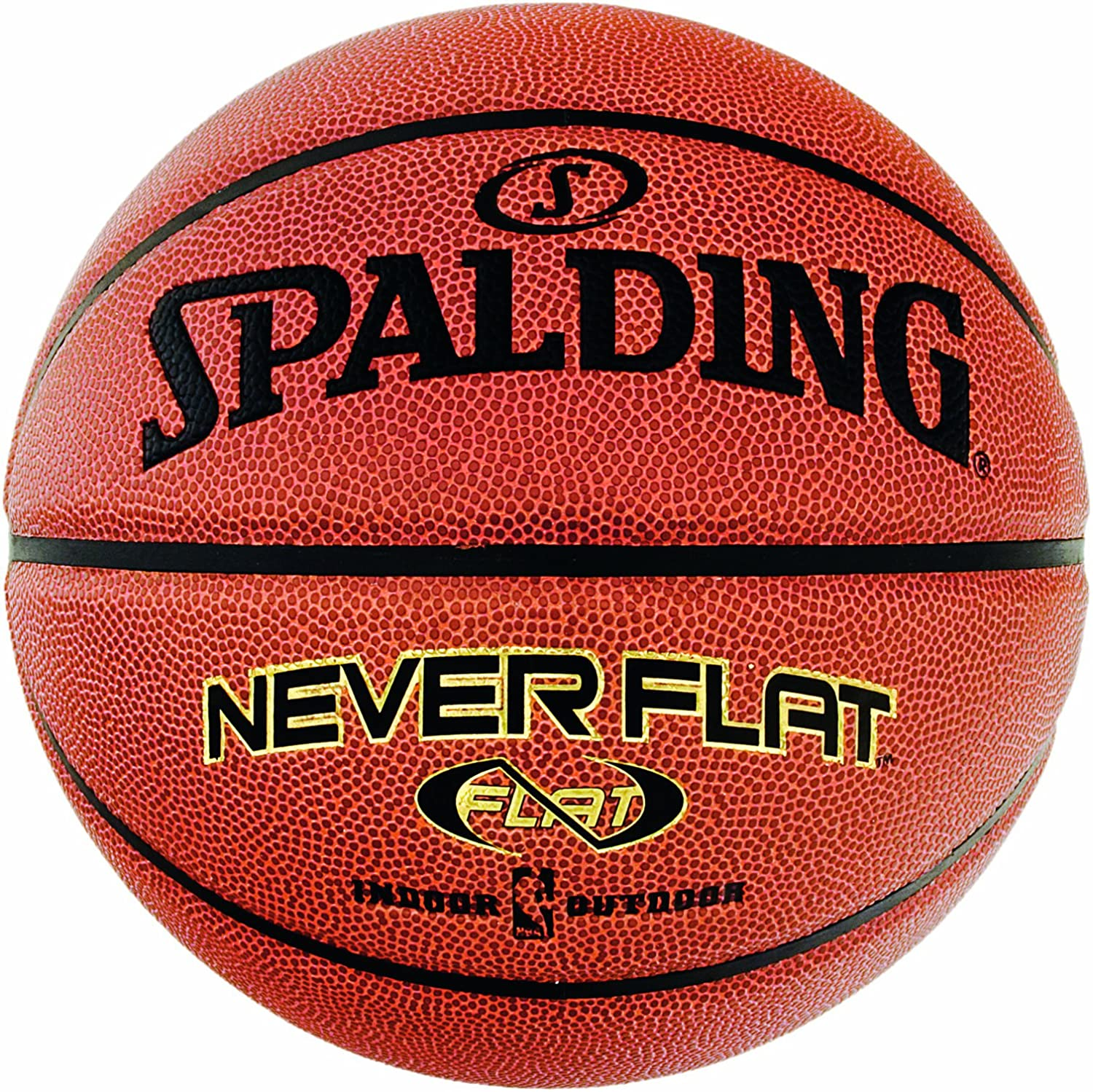 Spalding NBA Neverflat Indoor/Outdoor 74-096ZD Ballon de basketball 7