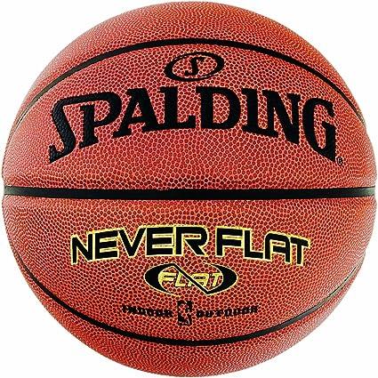 Spalding NBA Neverflat - Balón de baloncesto (para interior y al ...