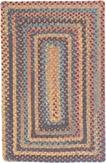 product image for Ridgevale Braided Rug, 2 by 10-Feet, Floral Burst