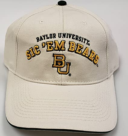 Amazon.com   NCAA New Baylor Bears University Adjustable Buckle Back ... 06d5a4442bc4