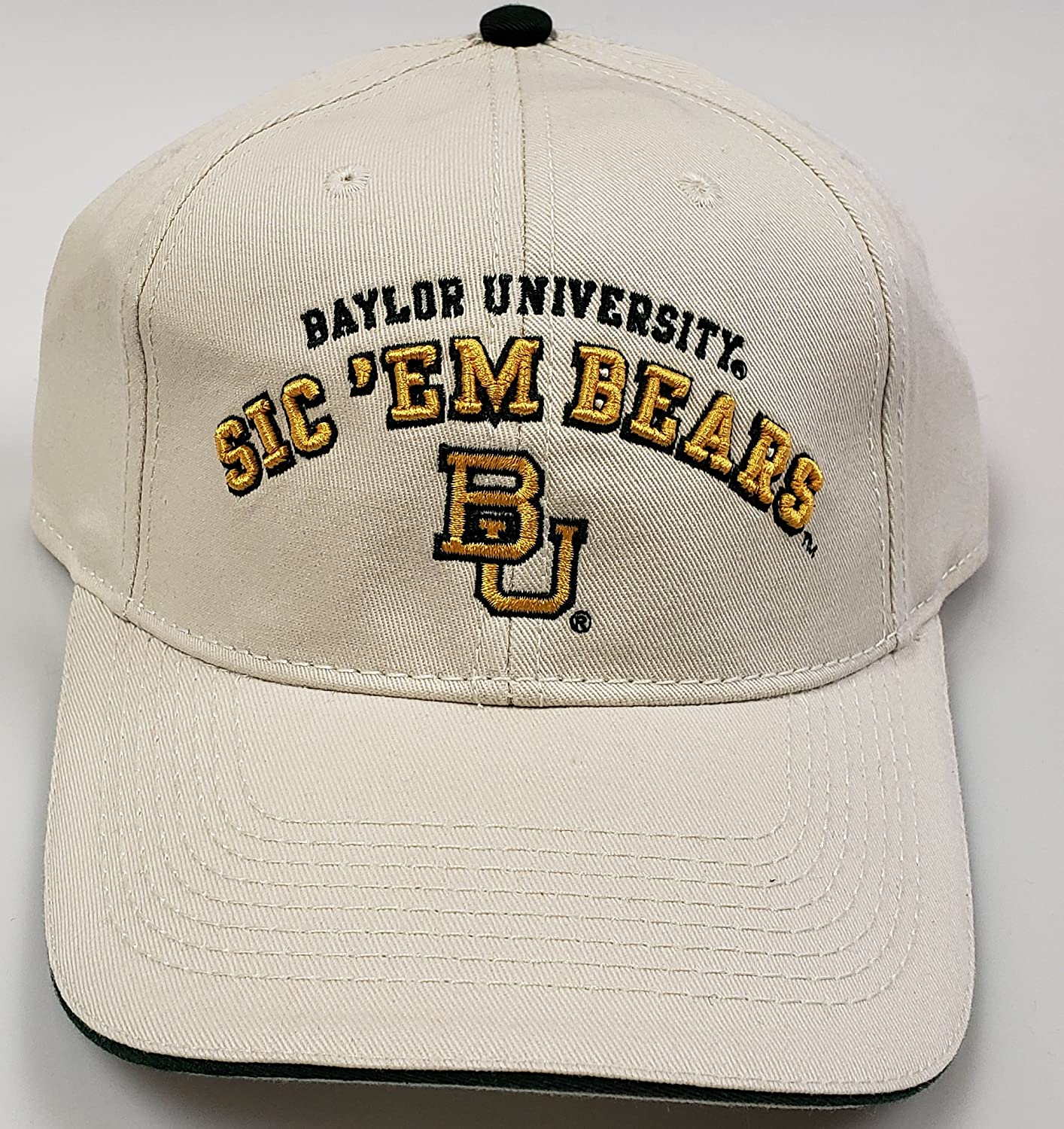 8b731c6c90b5a ... 50% off amazon ncaa new baylor bears university adjustable buckle back cap  sports outdoors 258f5
