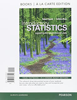 Amazon introductory statistics 2nd edition 9780321978271 introductory statistics books a la carte plus new mylab statistics with pearson etext fandeluxe Gallery
