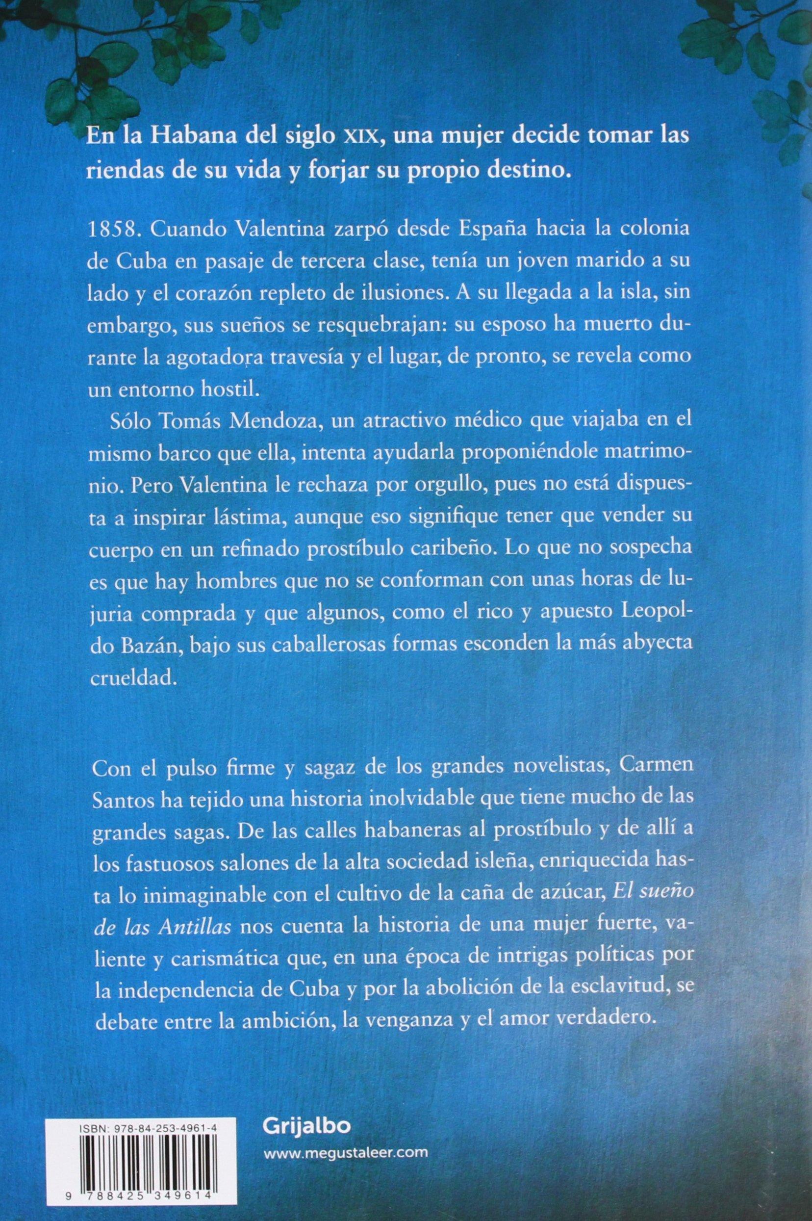 El sueño de las Antillas (Novela histórica): Amazon.es: Carmen Santos: Libros