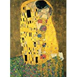 """PalaceLearning The Kiss by Gustav Klimt - 18"""" x 24"""" Laminated Poster - Classic Fine Art Print"""