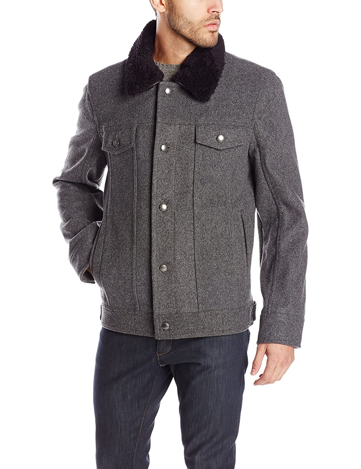 Men's Vintage Style Coats and Jackets Pendleton Heritage Mens Sante Fe $233.25 AT vintagedancer.com
