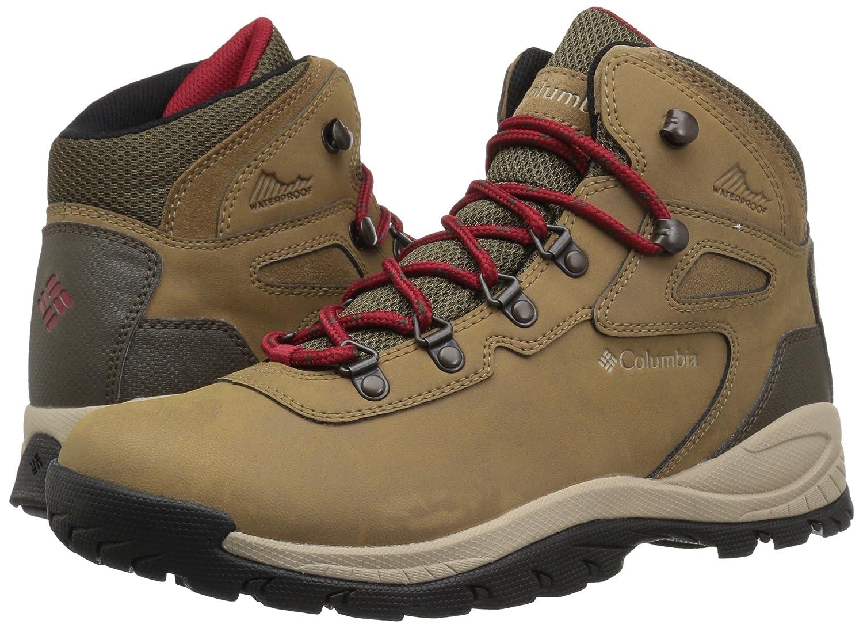 Columbia Women's Newton Ridge Plus Hiking Boot B073RMF76S 10.5 B(M) US|Delta, Red Velvet