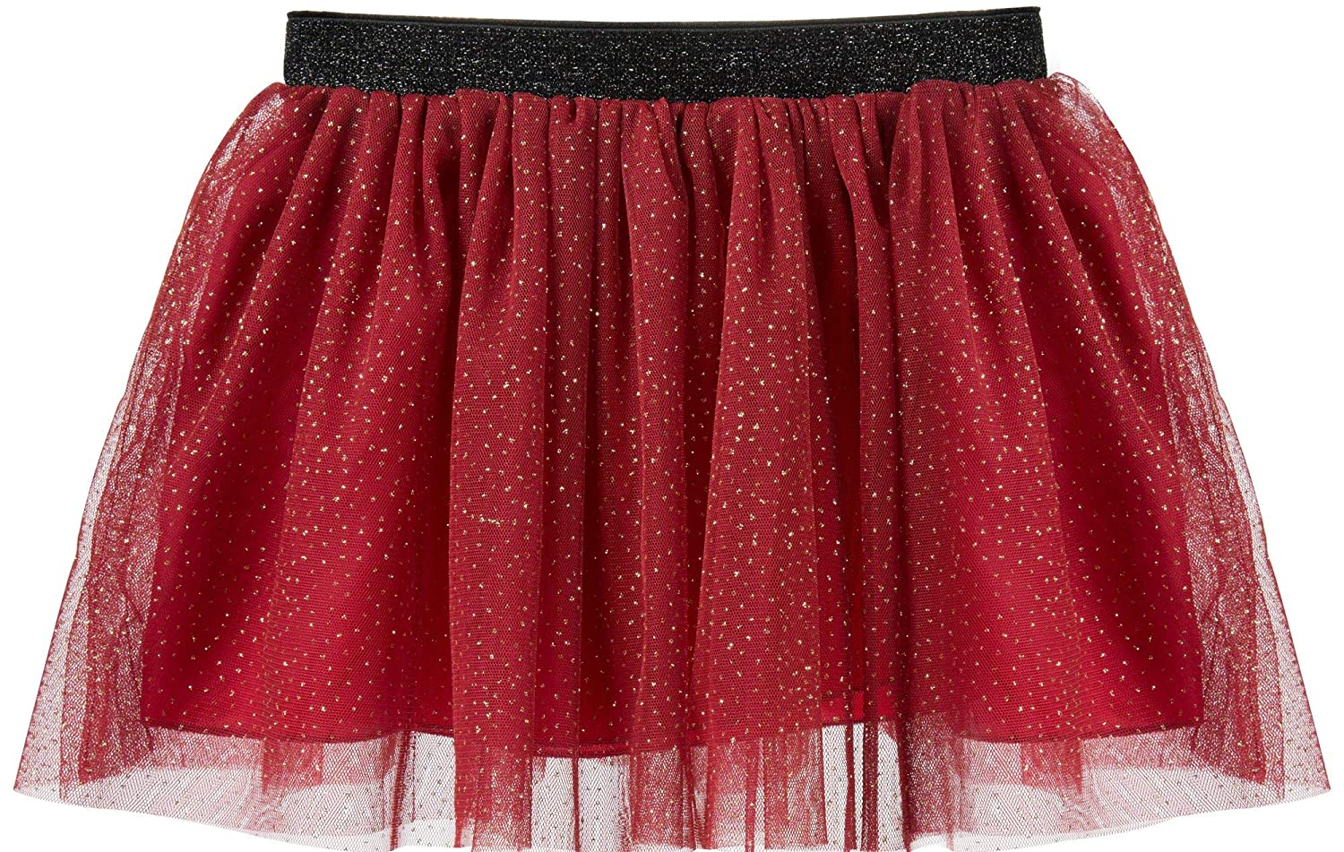 ISPED Girls Tutu Skirt Fluffy Ballet Dance Princess Layered Ruffled Sequins Tutu Gymnastics for Toddler/Little Girl YM16