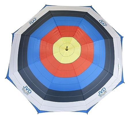 JVD 3x20cm FITA Target Face Vertical 3 Spot Reinforced Paper