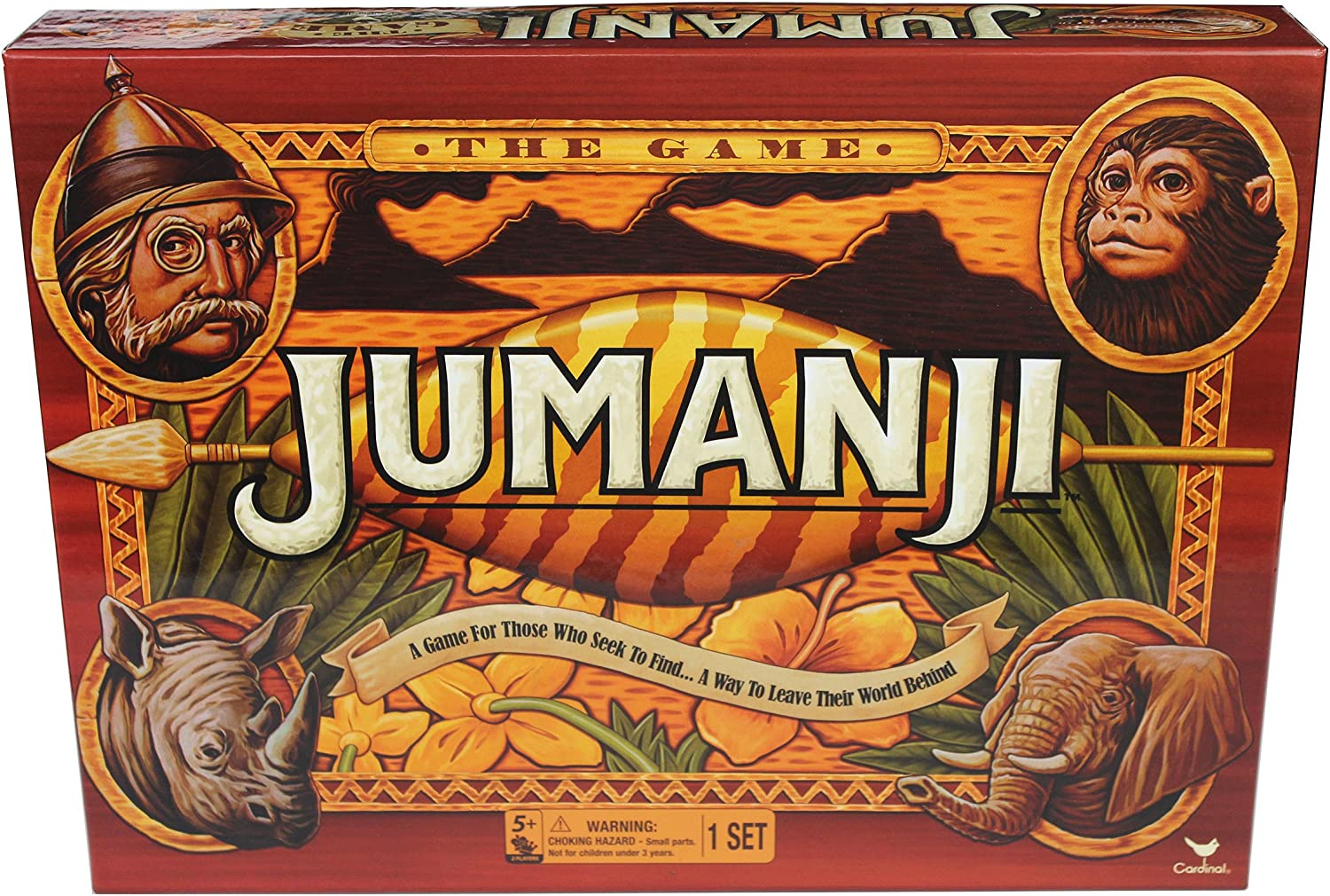 Cardinal Games Jumanji The Game Action Game