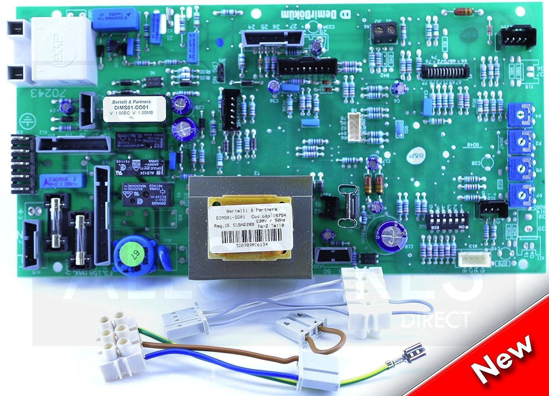 HEATLINE COMPACT S24 & S30 BOILER PCB 3001060232 WAS 3003200010 ...
