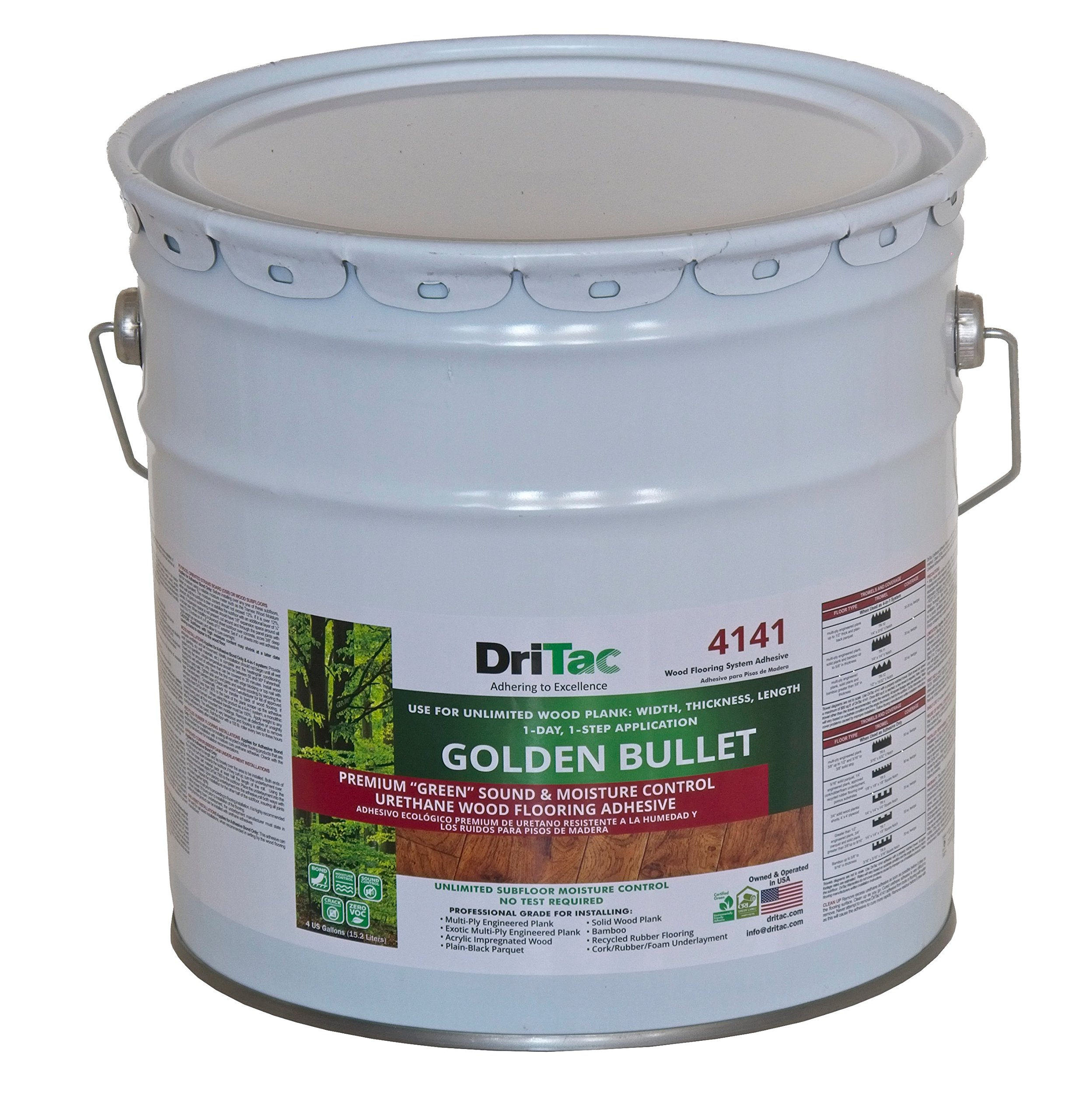 DriTac 4141 Golden Bullet Mositire Barrier Adhesive by DriTac (Image #1)