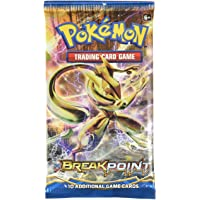 "Pokemon Trading Card Game ""Break Point"" , 10 additional game cards, modelos aleatorios - Standard Edition"