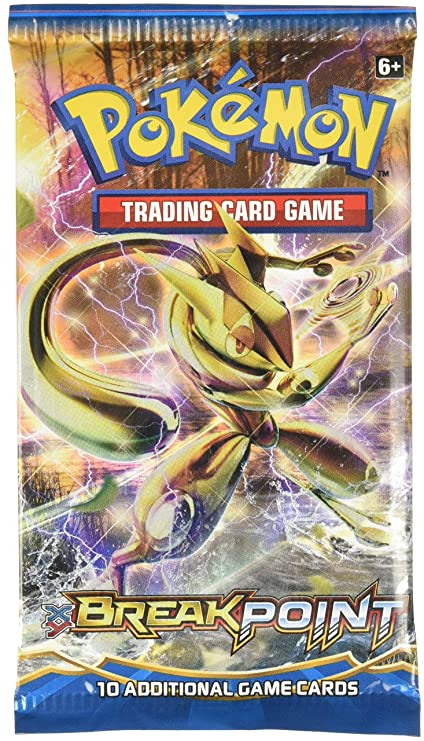 Amazon Com Pokemon Xy Breakpoint Booster Pack Toys Games