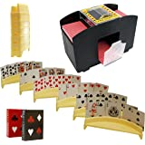 Automatic Card Shuffler, Includes 2 Deck Of Cards And 6 Card Holders