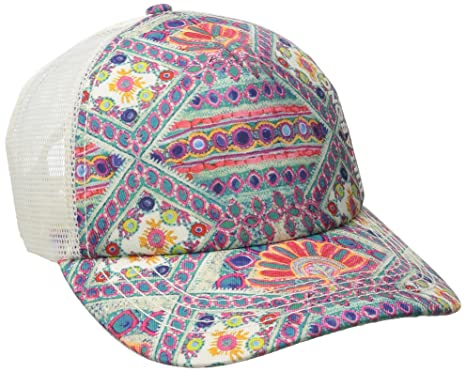 be81ed434c1e46 Billabong Junior's Beach Beauty Trucker Hat, Multi, One Size at ...