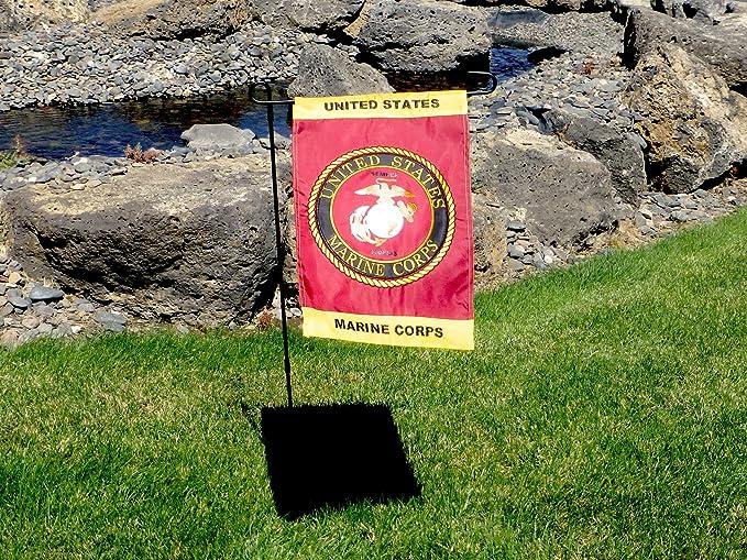 Amazon.com : In the Breeze U.S. Marine Corps Emblem Garden Flag ...
